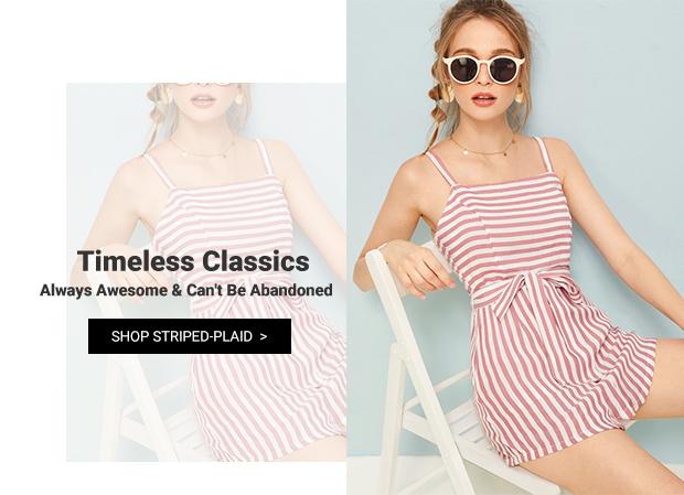 New-Striped-Plaid-Clothing