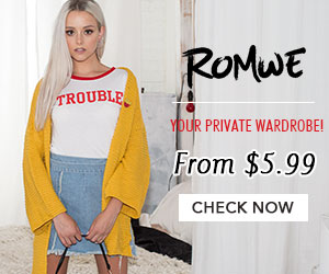 Romwe Fashion Sweaters