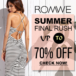 Romwe Maxi dress