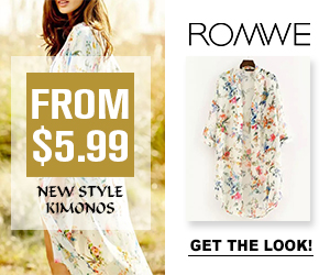 Romwe Kimonos