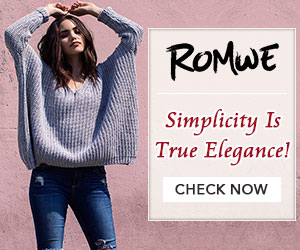 Romwe Fashion Pullover
