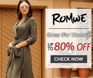 Romwe Fashion Dresses
